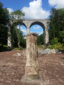 Beneath The 8 Arch Bridge