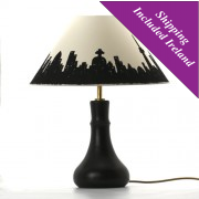 Table Lamp-Ebonised Spanish Chestnut