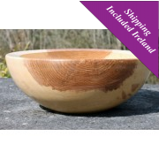 Large Wooden Serving Bowl-Ash