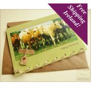 Greeting Card (Irish Cows)