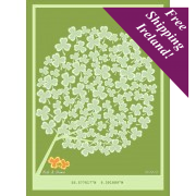 Wedding Signature Tree (Irish Shamrock)