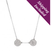 United Eternity Delicate Silver Necklace