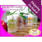 Historic Irish Landmarks (Candle Gift Set)