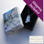 Antrim Silver Pendant and Chain