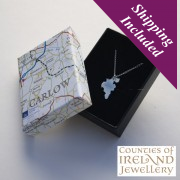 Carlow Silver Pendant and Chain