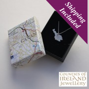 Cavan Silver Pendant and Chain