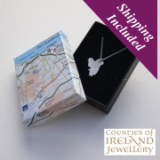 Derry Silver Pendant and Chain