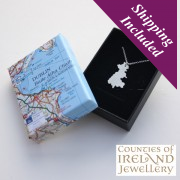 Dublin Silver Pendant and Chain