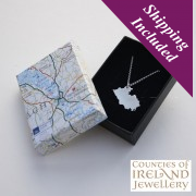 Fermanagh Silver Pendant and Chain