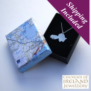 Galway Silver Pendant and Chain