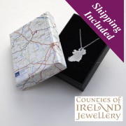 Counties of Ireland Jewellery - Wear Your Own Counties!!!