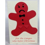 'Langer Who Hates Christmas'- 5Pack Cards