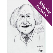 Caricature Portrait- Black & White