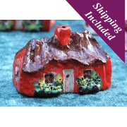 Small Irish Cottage with Flowers