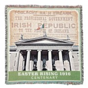 Easter Rising 1916 Centenary Throw- 100% Cotton