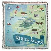 Ring Of Kerry-100% Cotton Throw