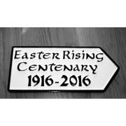 1916 2016 centenary irish road sign negle Images