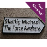 Star Wars- Skellig Michael-Irish Road Sign