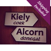 Personalised Irish Road Signs-Surnames