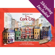 Tiny Ireland - Cork City Paper Model Kit