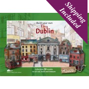 Tiny Ireland - Dublin Paper Model Kit
