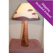 Large Wooden Table Lamp - Cherry
