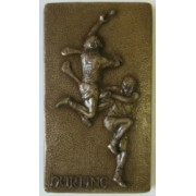 'Hurling' Bronze Wall Hanging