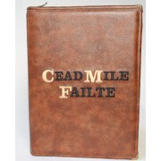 Cead Mille Failte Personalised iPad Tablet Cover