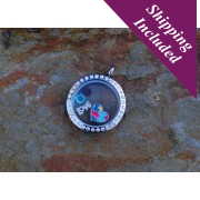 Silverhaven Autism Heart Locket