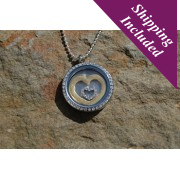 Silverhaven Heart in a Heart Locket