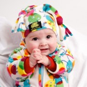 Caterpillar Baby Jacket