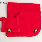 Red Fluffy Baby Blanket