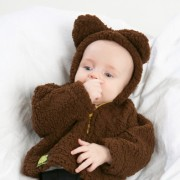 Brown Bear Baby Jacket