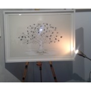 Friends & Family Tree-Wedding Tree-300 Fingerprints